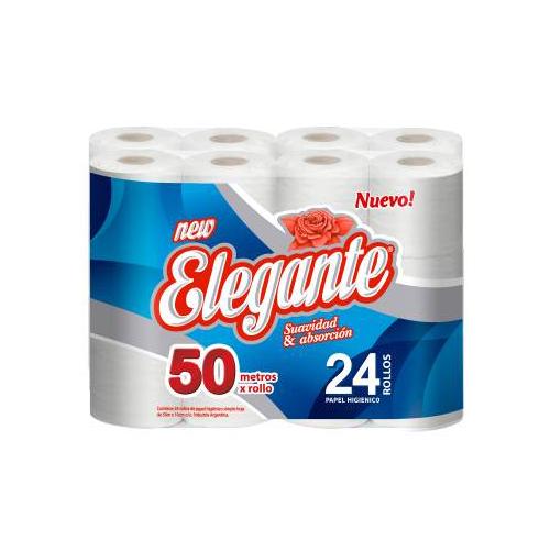Papel Higiénico 24 unid x 50 mts
