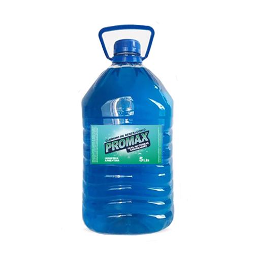 Desinfectante Cloruro de Benzalconio x 5 Lts